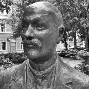 Ital Svevo Statue, Trieste