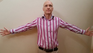 This is my favourite Power Pose for reducing stress.